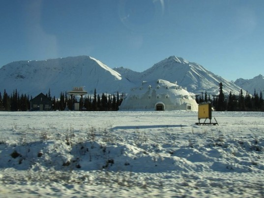 Alaska, Abandoned, Igloo Hotel, George Parks Highway, wooden structure, Architecture, Eco Tourism,