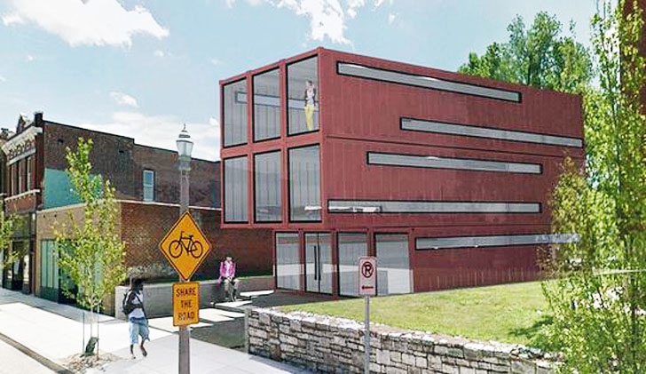 Saint Louis To Receive First Shipping Container Building