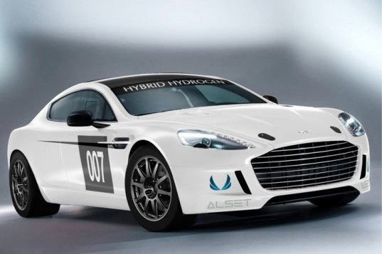 aston martin, aston martin rapide s, aston martin hydrogen rapide s, hydrogen car, alset global, hydrogen-powered race car, nurburgring, green transportation, zero emissions