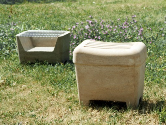 Brut, Agustina Bottoni, Barbecue, stool, sustainable design, green design, coconut coir, agricultural waste, recycled materials, sustainable materials, green furniture, sustainable furniture, recycled coconut coir, ikea, diy, do it yourself furniture