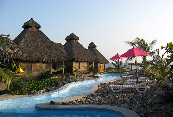 Mexico S Thatched Roof Cococaba 241 As Resort Is Powered
