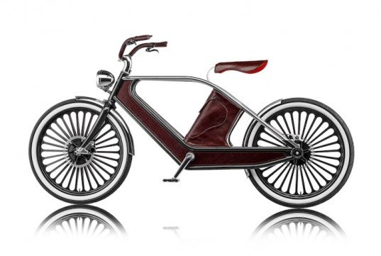 Funky Electric Cykno Bike Whizzes Around Milan for Design Week