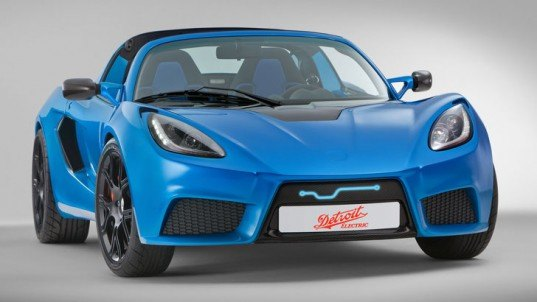 Detroit Electric, Detroit Electric SP:01, electric sports car, electric car, green car, green sports car, electric motor, electric motor