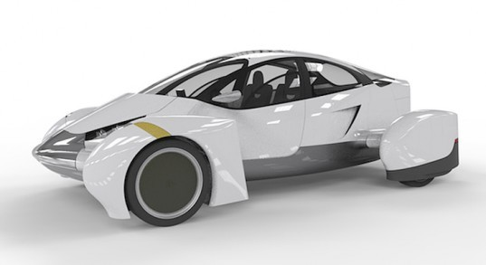 Edison2 VLC, Very Light Vehicle, low-mass vehicles, Edison2 X Prize, electric vehicles, energy efficient cars, green transportation, electric powered VLC, recyclable car parts, Automotive X Prize, battery-powered vehicle, plug-in car design, green car design