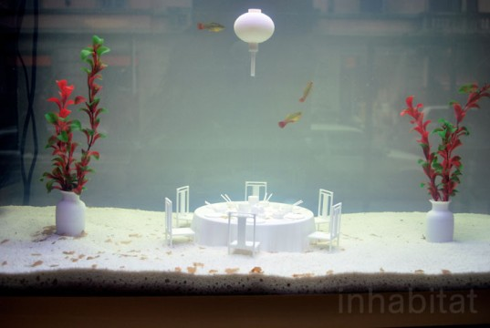 Fish Restaurant, Studio Droog, Milan Furniture Fair 2013,
