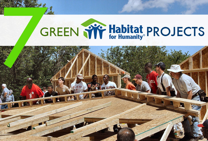 Habitat world seven sustainable habitat for humanity projects inhabitat green design for Construction habitat