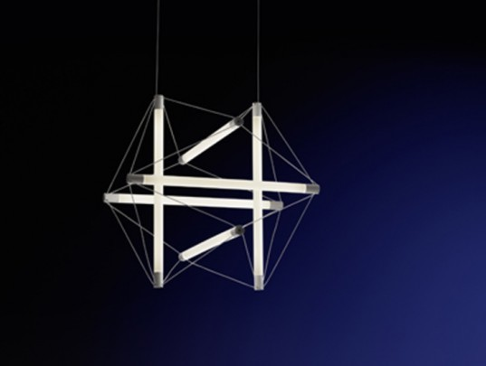 Ingo Maurer, lighting, LightStructure, Milan, euroluce, led, eco friendly, low voltage, sustainable
