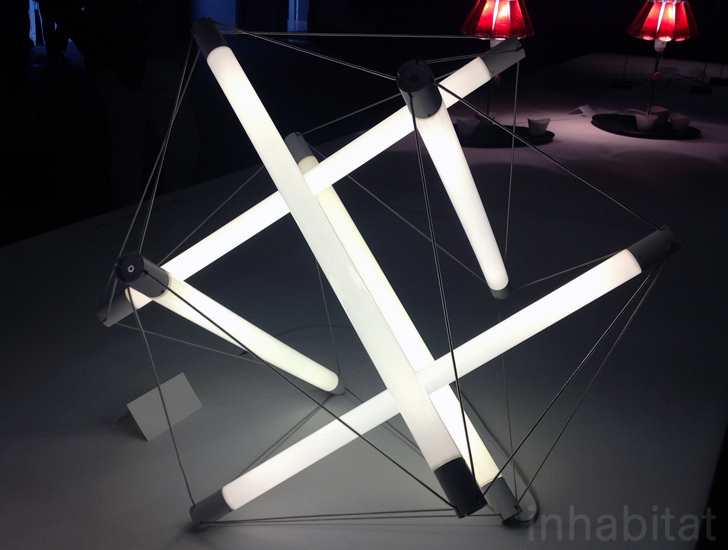 Lightstructure Ingo Maurer S New Geometric Led Lamps Are