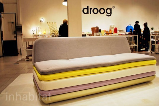 Sofa, layered furniture, Droog Design, Milan Furniture Fair 2013,