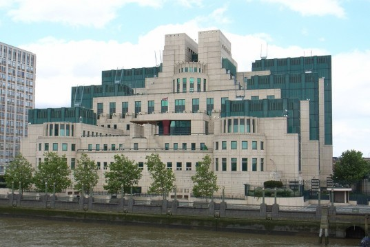 MI6, Secret Intelligence Service, James Bond, UK's Regulation 4 of the Environmental Information Regulations (2004), eco footprint, electricity, gas, water, UK, green credentials, MI5