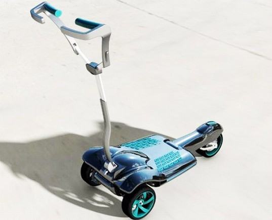 urban transportation device, MUV-e is an all-electric scooter, Amir Zaid, Autodesk, The MUV-e electric scooter , electric scooter, mobile scooters, collapsible scooter, foldable scooter