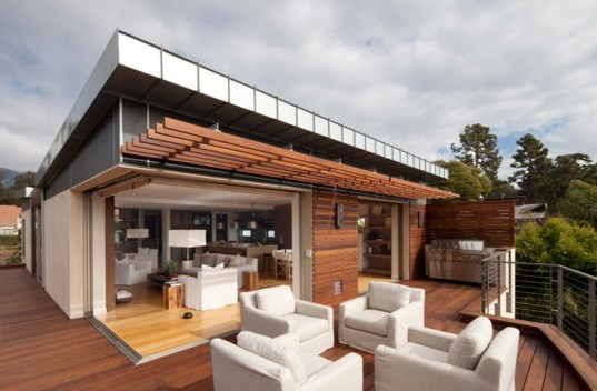 green design, eco design, sustainable design, Montecito California, Butterfly Beach, LEED Platinum Home, Eco friendly house, green roof, Maienza Wilson Interior Design and Architecture