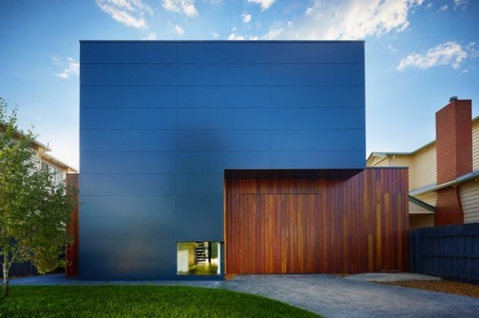 Stunning Prefab Northcote Home Combines Minimalist And
