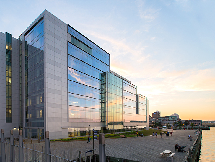Nova scotia power headquarters is the first leed certified for Certified building designer