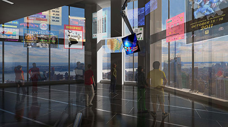 New Video Shows One World Trade Center Observation Deck S
