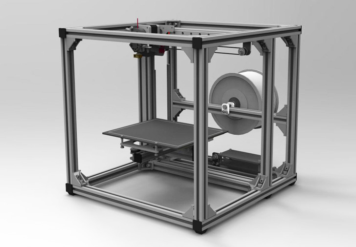 Super Precise Panther 3d Printer Is Made From High Grade