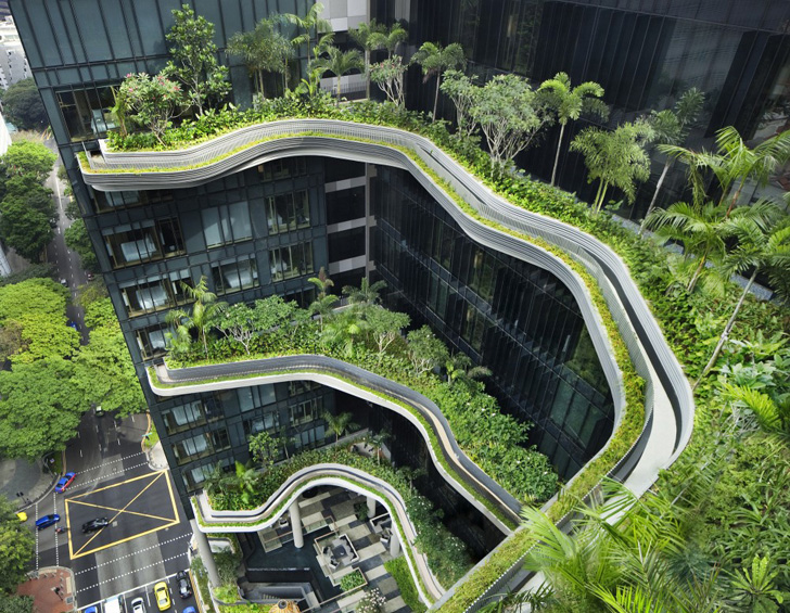 Park Royal Tower: WOHA\'s Stunning Vertical Garden Tower Opens in ...