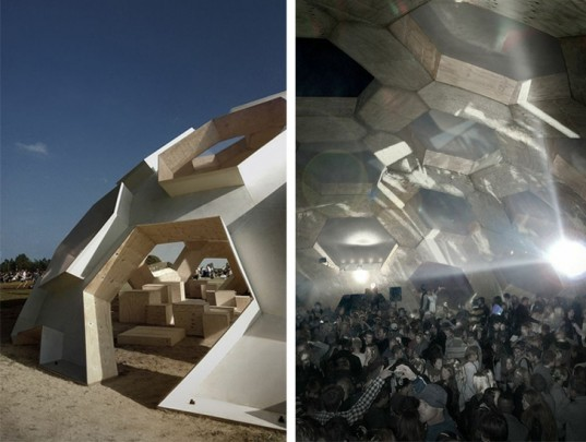 Roskilde Plywood Dome In Denmark Is A Large Geodesic