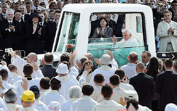 ... cost half the amount of the Pontiff's current car which is based on