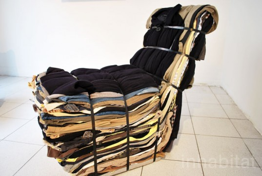 Rag Chair, Studio Droog, Milan Furniture Fair,