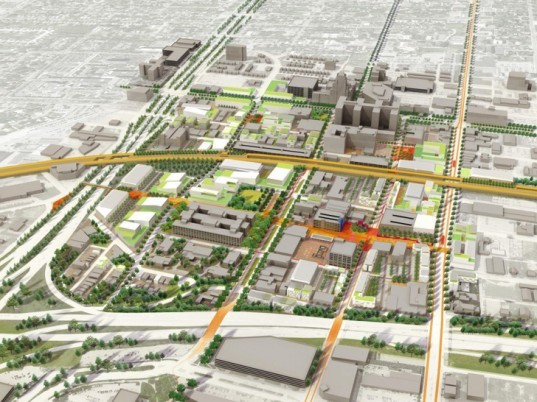 green design, eco design, sustainable design, Detroit, Sasaki Associates, community planning, Midtown Detroit, Techtown District Plan, Detroit rehabilitation
