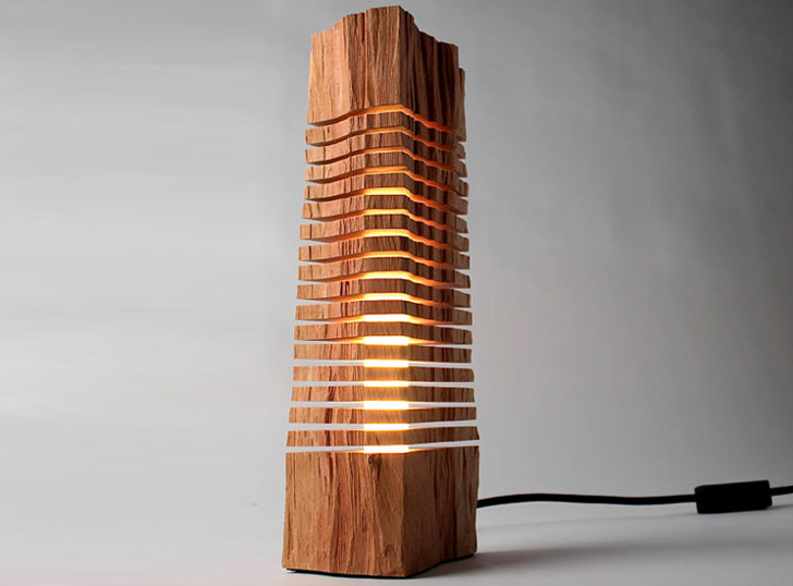 paul foeckler transforms fallen cypress branches into beautiful led lamps inhabitat green. Black Bedroom Furniture Sets. Home Design Ideas