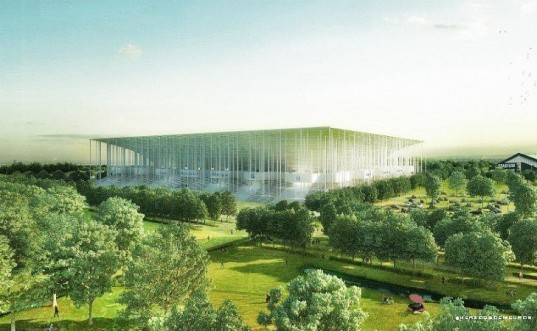 green design, eco design, sustainable design, Herzog & de Meuron, Nouveau Stade de Bordeaux, solar powered stadium, photovoltaic stadium, Euro 2016 football, Girondins de Bordeaux