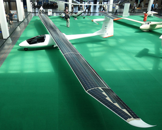 Sunseeker Duo, Solar Flight, AERO Global Show for General Aviation, solar-powered plane, solar power, solar cells, green transportation, sunseeker plane, solar aircraft, solar design, photovoltaics, energy efficient plane, fuel-free plane