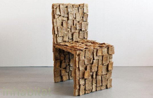 TOFU Chair, edible chair, Leonardo Talarico, chair made from tofu, Tofu Chair by Leonardo Talarico