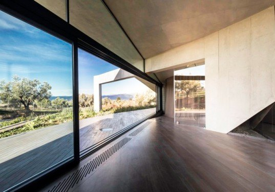 Tense Architecture Network, green roof, House in Sikamino, greece, Architecture,