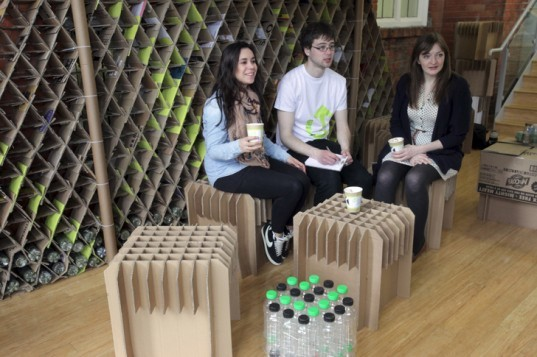 Trash Cafe: Newcastle Students Unveil Pop-Up Coffee Shop Made From Recycled Cardboard