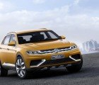 Volkswagen CrossBlue Coupe Hybrid Concept Previews VW's Future in Shanghai