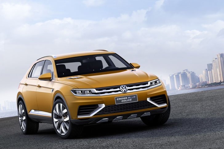Volkswagen Crossblue Coupe Hybrid Concept Previews Vws Future In