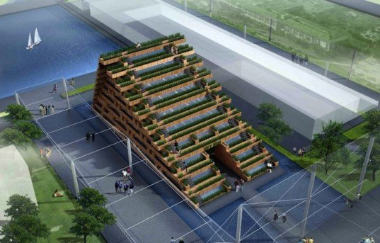 green design, sustainable design, Expo 2015, Milan, Viet Nam, H&P Architects, eco-design, urban agriculture, sustainable agriculture, recycled materials, salvaged materials, rice farms,