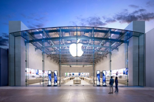 Apple retail stores design, Apple design, Apple Norman Foster, Foster+Partners Apple HQ, Apple Campus 2, US Patent & Trademark Office, Apple patents, design trademark certificate