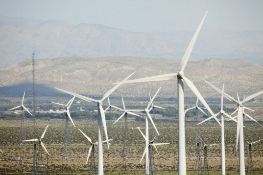 wind power, wind power production, wind capacity, renewable energy, california wind farm, palm springs wind