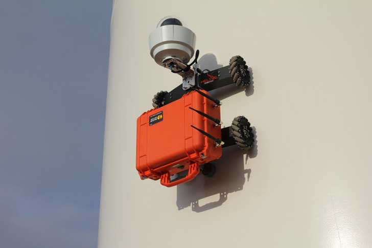 Helical Robotics Introduces Climbing Robots for Wind Turbine Inspection