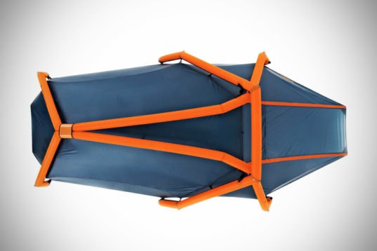 The Wedge: Heimplanet's New Inflatable Two-Person Tent Pops