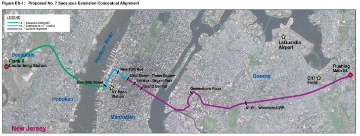 7 Train Extension To New Jersey Being Considered