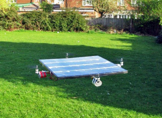 green design, eco design, sustainable design, SolarCopter, solar powered helicopter, solar powered airplane, Queen mary College