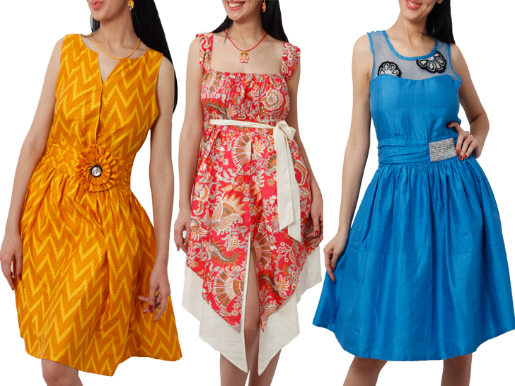 Create Your Own Eco Friendly Peace Silk Dress With Supezas