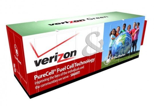 verizon, verizon green energy project, verizon launches green energy project, verizon wireless, verizon sustainability, fuel cells, verizon fuel cells, verizon solar power, solar power, solar energy, green energy, green design, eco design, sustainable design