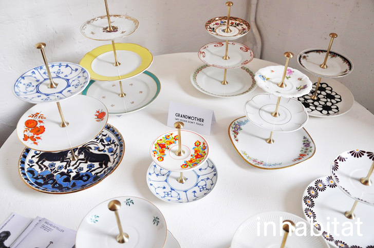 Willhelm Teller Upcycles Old Dishes Into Tiered Cake Plates & Willhelm Teller Upcycles Old Plates Into Gorgeously Tiered Cake ...
