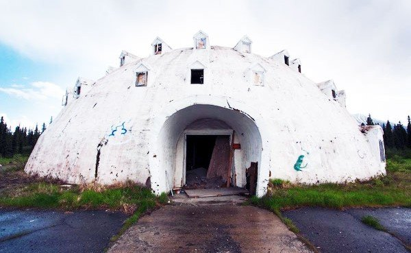 spooky abandoned igloo hotel in alaska about to be