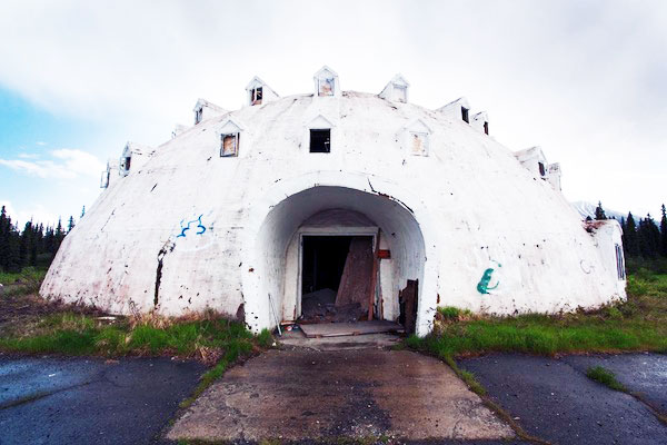 Spooky Abandoned Igloo Hotel In Alaska About To Be Restored. Architecture Design