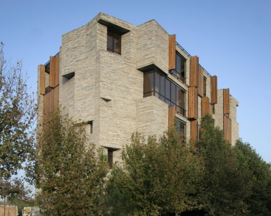 Apartment No 1, Architecture by Collective Terrain, recycled stone, local stone, recycled materials, mahallat, iran, upcycled materials
