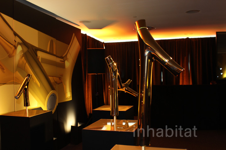 axor starck organic faucet launch inhabitat green. Black Bedroom Furniture Sets. Home Design Ideas