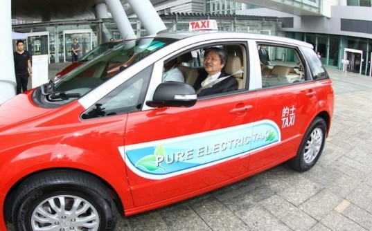 Chinese electric vehicle manufacturer, Hong Kong electric taxis, BYD, China electric vehicles, green transportation, sustainable transportation, Public Light Bus Association Limited, Hong Kong Taxi, news, environment