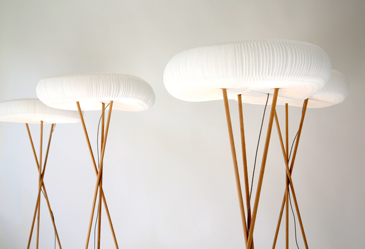 Molo Unveils Beautiful Led Softlight Lamps Featuring Eco