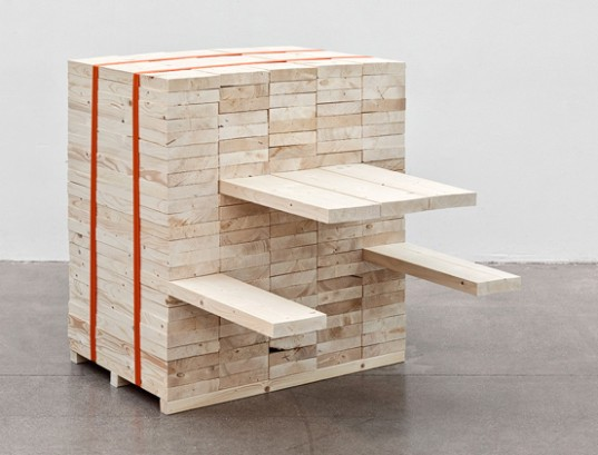 Daniel Svahn, Picnic, reclaimed wood, sustainably sourced wood, green design, sustainable design, green interiors, sustainable interiors, wood table, picnic table, salvaged wood